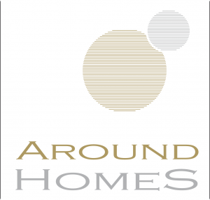 Logo der Firma Around Homes