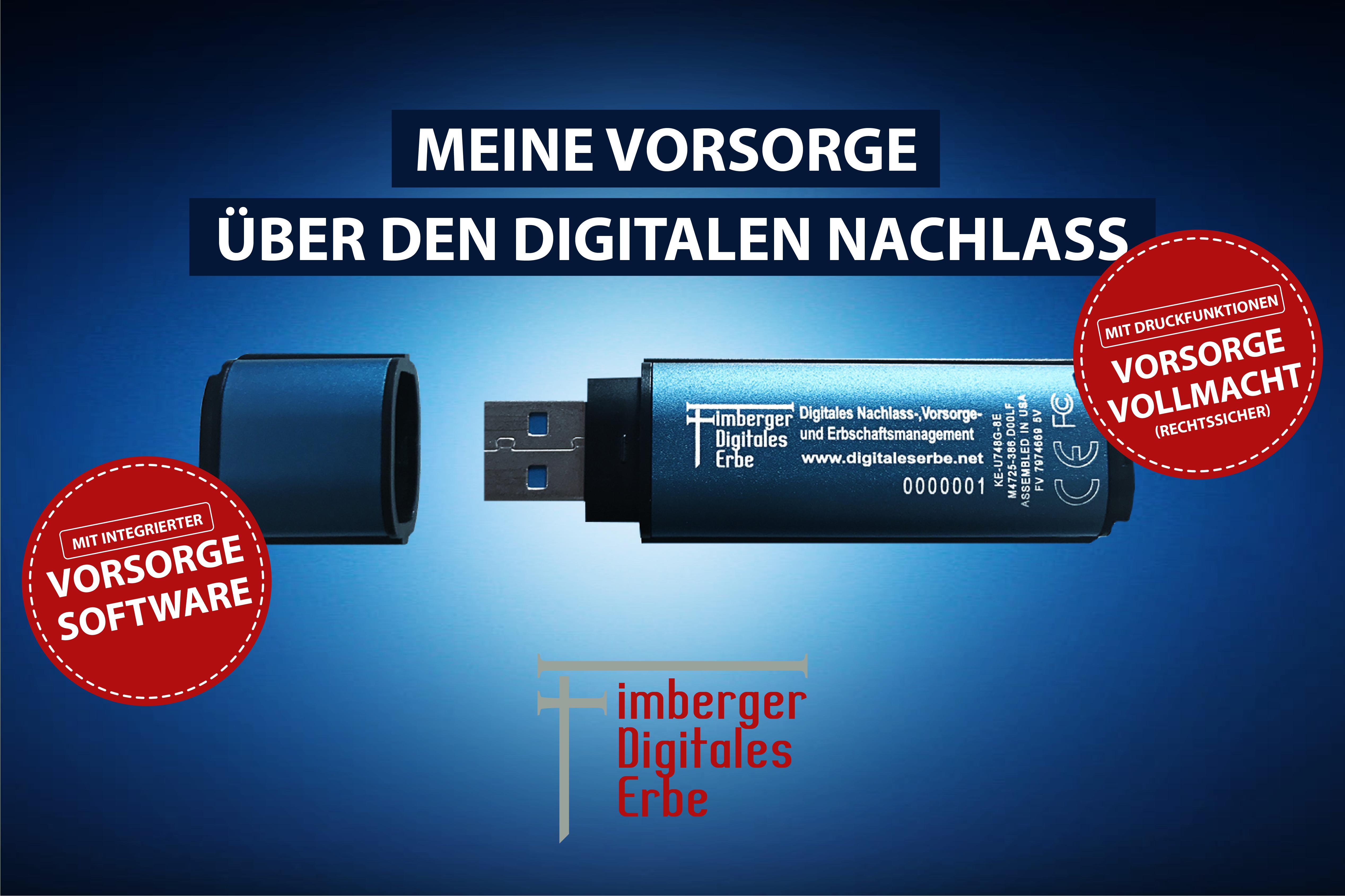 DLH, USB, DLHStick, DLH-Stick, digitale Vorsorge und Vorsorgevollmacht