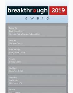 Breauktrough Awards mit Digitales Erbe Fimberger