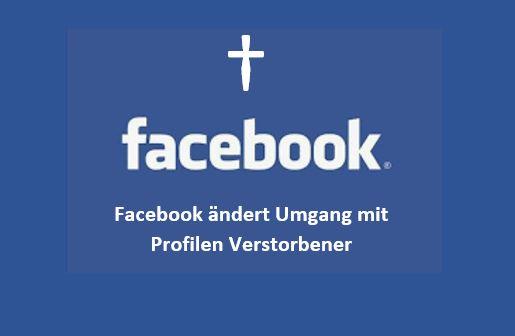 FB ändert den Umgang mit Profilen Verstorbener