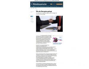 Zeitungsartikel der Mittelbayerische