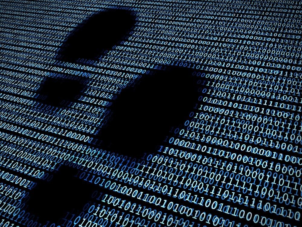 Spuren und der digitalen Welt