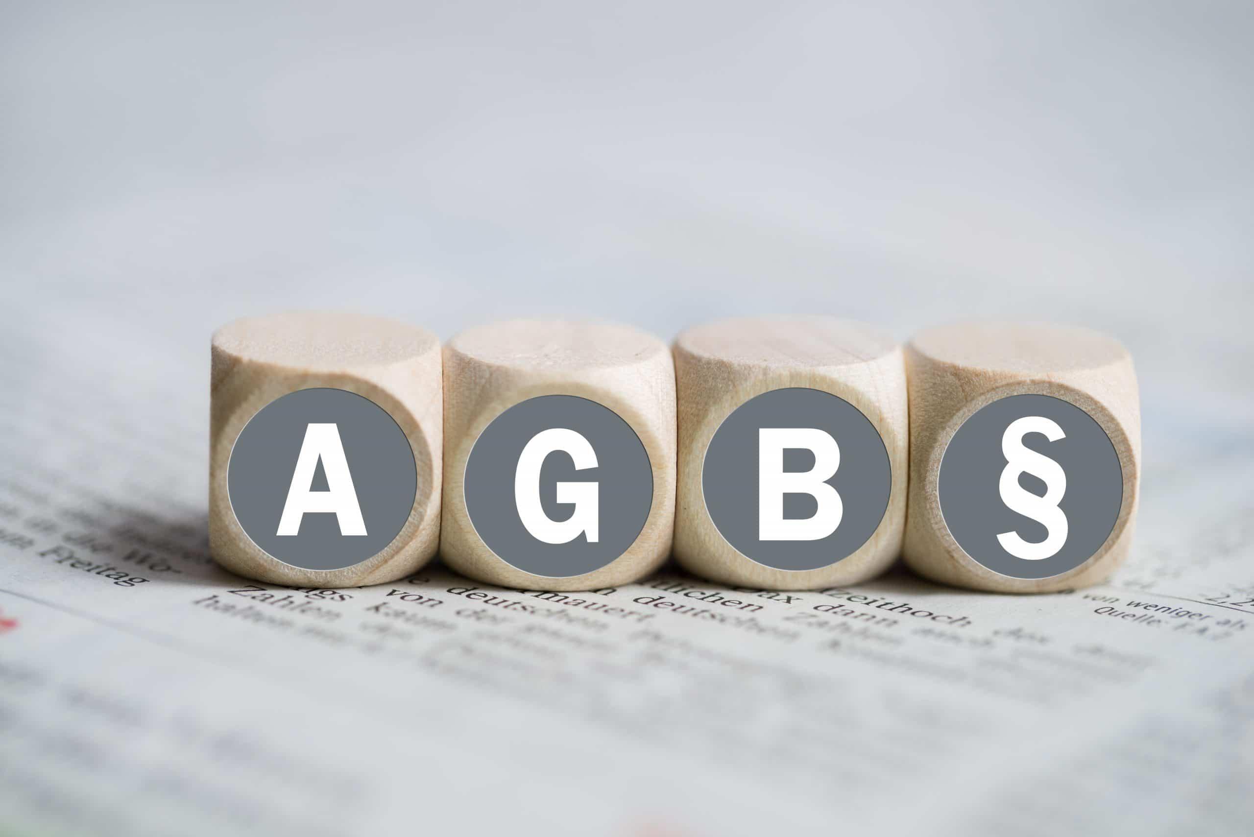 AGB, das stillschweigende Abkommen mit dem Kunden